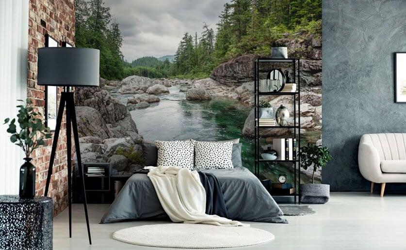 Bedroom_print_wall_nature