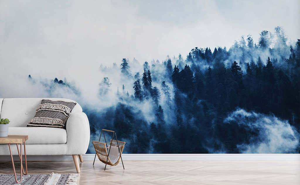 Blue_Forest_Wall_Design